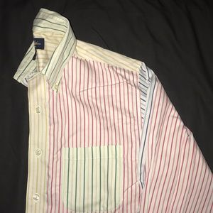 Brooks Brothers Multi Colored stripe shirt